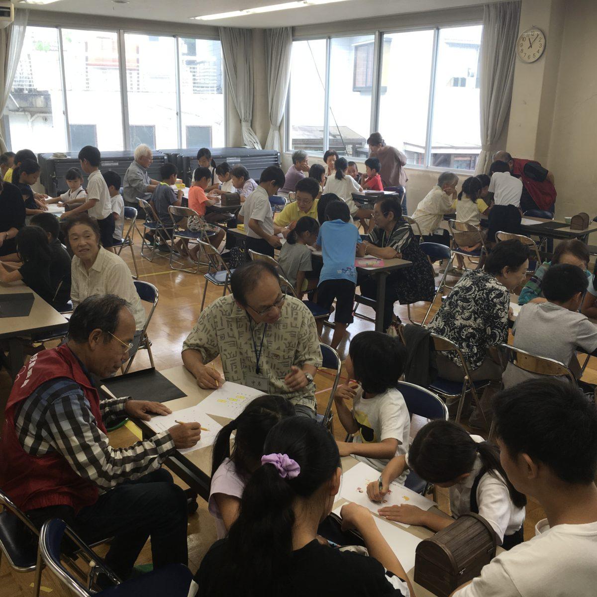 金沢市内児童クラブ地域サロン交流会*2019年8月22日(木)