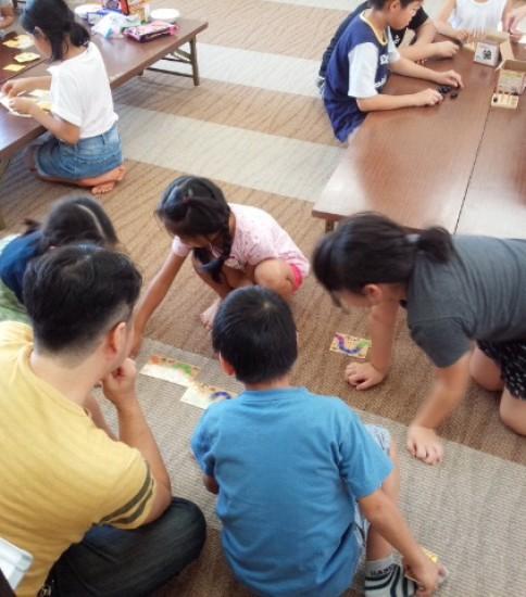 出張タカラバコin金沢市内の子ども会行事
